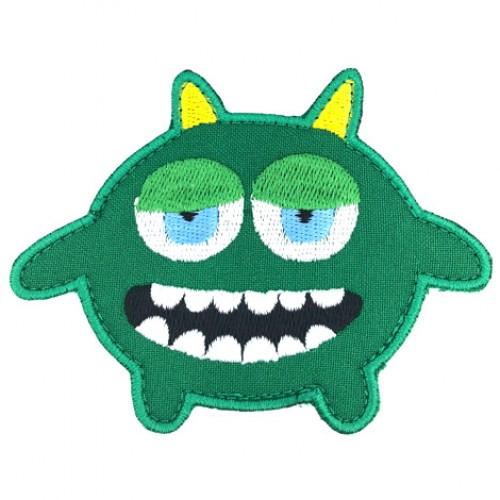 Monsterko zelený 9 cm x 7,5 cm
