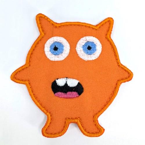 Monsterko oranžový /7 x 7 cm/