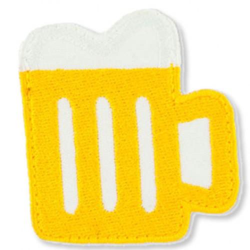 Pivo 3 nášivka / šírka 5,5 cm x 6 cm výška /