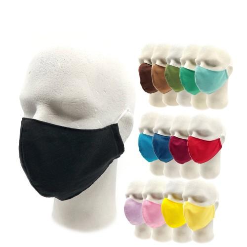 Bavlnené rúško na tvár tvarované