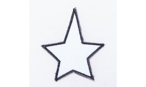 Hviezda vypratelná / šírka 6 cm x 7 cm výška /