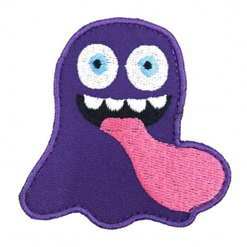 Monsterko fialový 7 x 7 cm